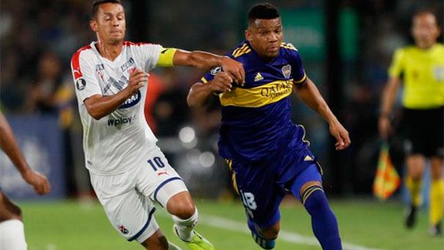 Boca derrotó a Independiente Medellín por la Copa Libertadores