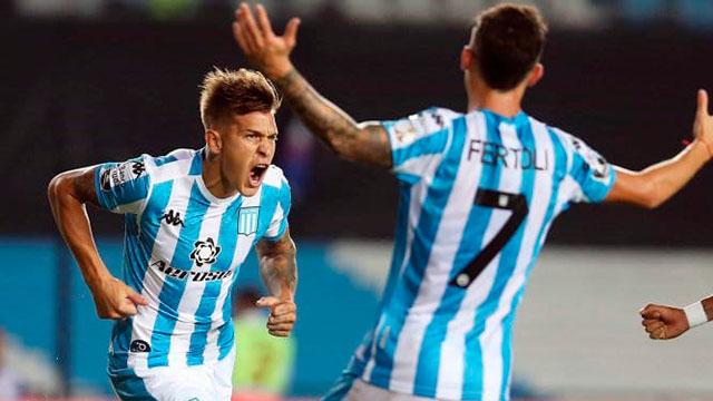 Gracias al gol solitario de Reniero, Racing le ganó a Alianza Lima.