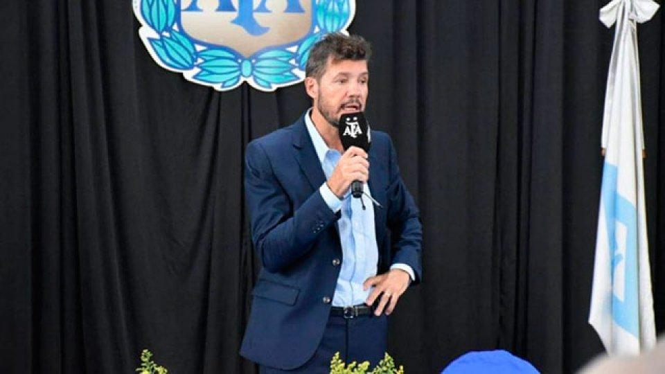 Marcelo Tinelli es el nuevo presidente de la Superliga.