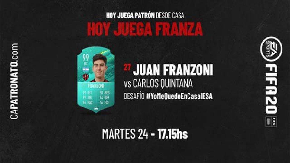 Franza se medriá ante Quintana en el duelo entre el Patrón y el Bicho.