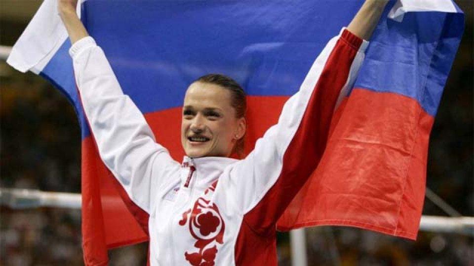 """""""No se puede enfadar a Rusia, incluido a nuestros deportistas"""", dijo Khórkina."""
