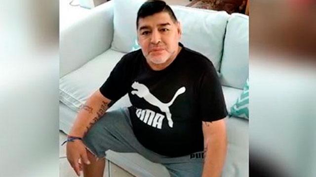 Maradona saludó a los entrerrianos.