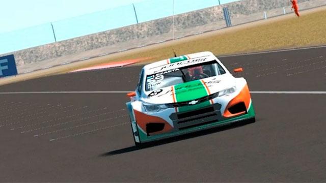 Maximliano Lezaeta ganó la segunda fecha del Súper TC 2000 virtual.