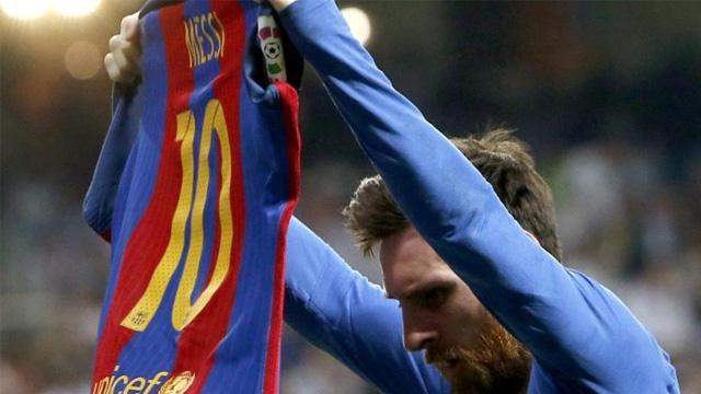 La Pulga llegó a los 500 goles y dejó un festejo histórico en el Bernabéu.
