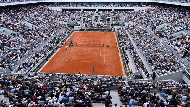 Roland Garros tendrá público: aprueban jugar con una capacidad del 60%.