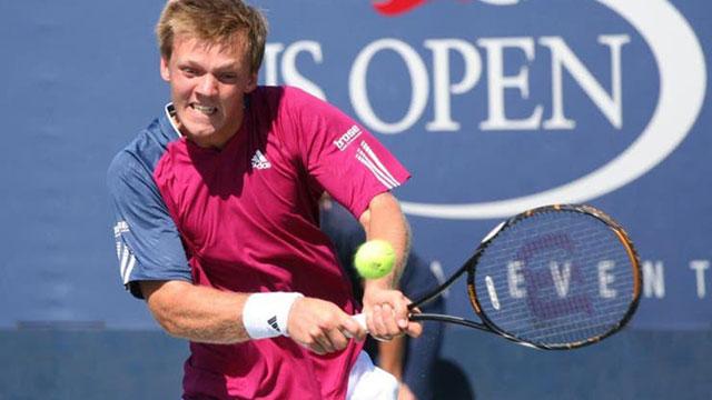 El alemán Kevin Krawietz, campeón vigente de Roland Garros en dobles.