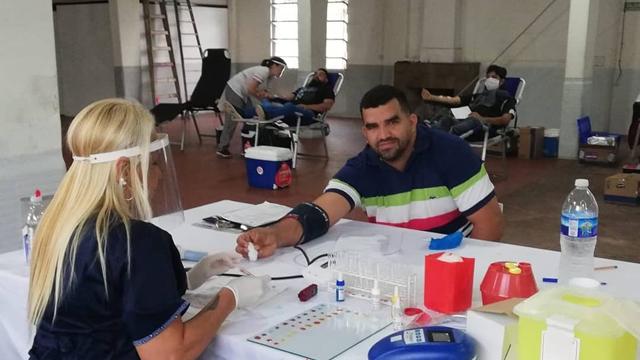 Hubo donación de sangre en el Club Atlético Paraná.