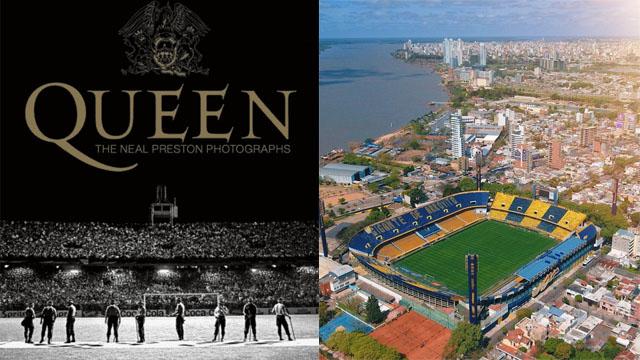 La legendearia banda se presentó en Rosario el 6 de marzo e 1982.