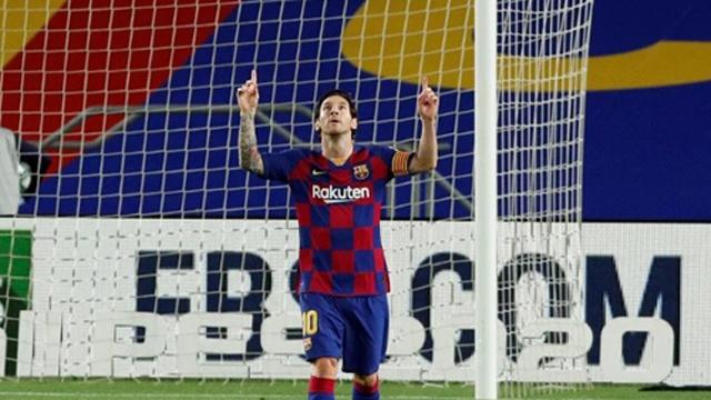 Messi quedó a uno de alcanzar los 700 goles en su carrera profesional.