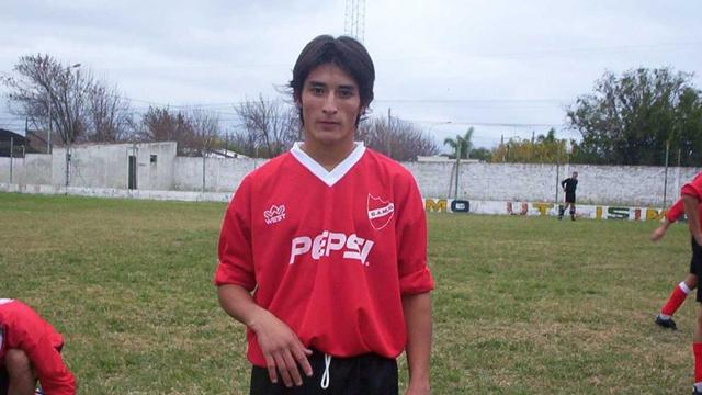 Milton Casco se formó en la Escuela de Fútbol de CAMG.