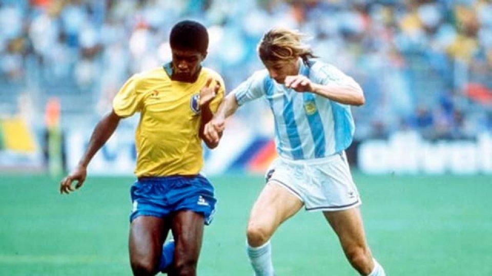 Caniggia, a 30 años del gol a Brasil: