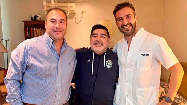 Diego Armando Maradona dio negativo en su hisopado por coronavirus.