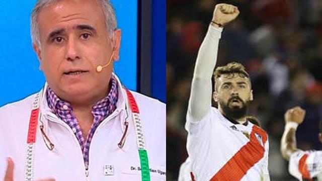 El dirigente brasileño tuvo repúdiables declaraciones contre el Oso Pratto.