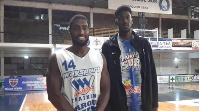 Hampton dejó en Parque Sur 321 puntos y 265 rebotes, y Smith 320 y 269.