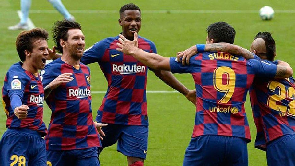 Barcelona apenas empató ante Celta y a Messi se le sigue negando el gol 700.