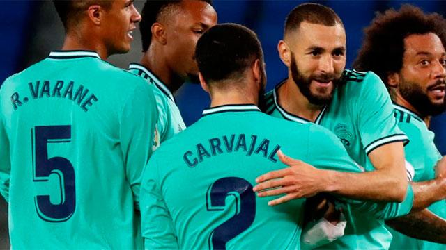 Real Madrid ganó y es único líder en España.