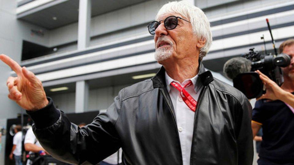 """""""Antes no les importaba, solo intentaban ganar carreras"""", expresó Ecclestone"""