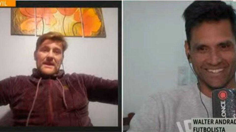 Walter Andrade y su retiro del fútbol: El emocionante diálogo con Bértoli.
