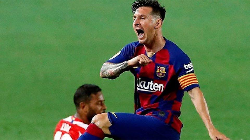 Lionel Messi llegó a los 700 goles.