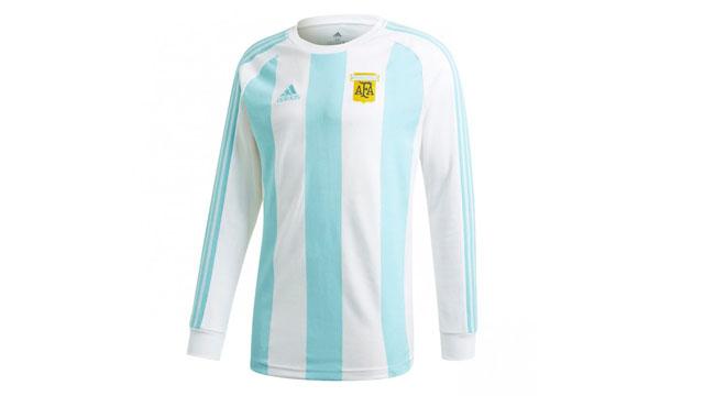 La nueva camiseta de Argentina, en homenaje a 30 años del Mundial de Italia