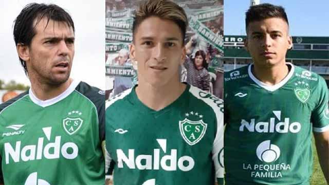 Yamil Garnier, Lautaro Geminieni y Claudio Pombo dejarían el Verde juninense.