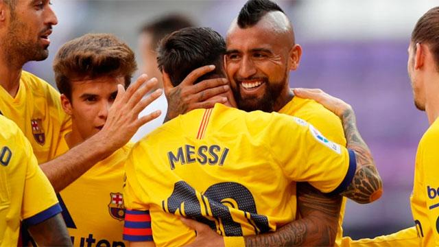 Messi no tiene freno y alcanzó un nuevo récord: Llegó a 20 asistencias en una temporada