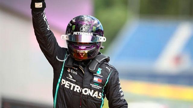 Hamilton se quedó con la victoria en el Gran Premio de Estiria.