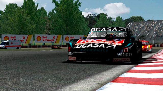 Leonel Pernía, el piloto de Torino, ganó la carrera del #TCenCasa. (Foto: ACTC)