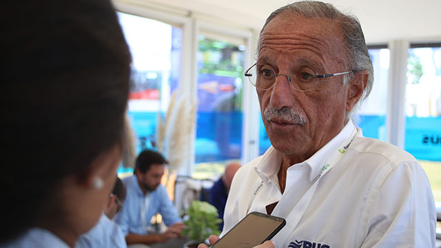 Juan Carlos Lucio Godoy, titular de Río Uruguay.