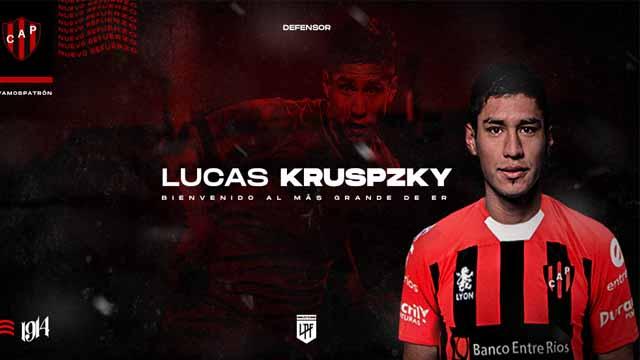 El Rojinegro comenzó a sumar nombres con la llegada del Lucas Kruspzky.