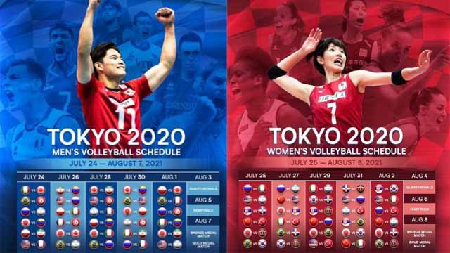 Todos los encuentros del vóley en los Juegos Olímpicos de Tokio.
