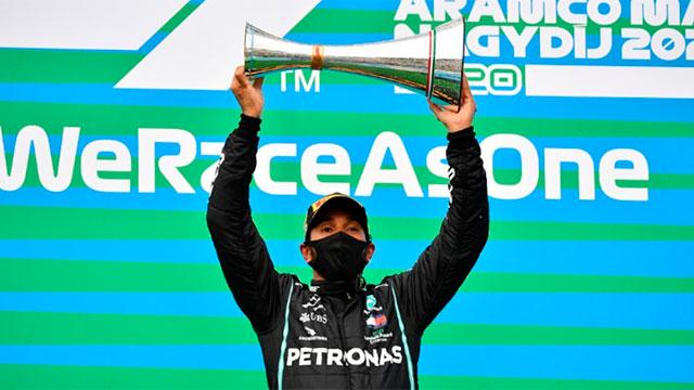 Hamilton se quedó con la victoria en el Gran Premio de Hungría.