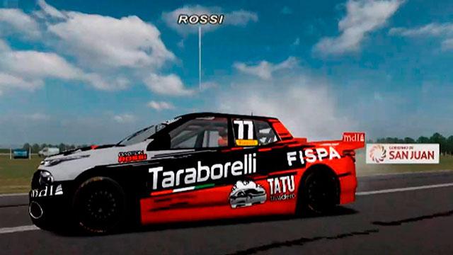 En Rafaela, Gastón Rossi se coronó en el TC Pick Up Virtual 2020. (Foto: ACTC)