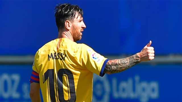 """""""Me hubiese gustado acompañar el premio con la Liga"""", expresó la Pulga."""