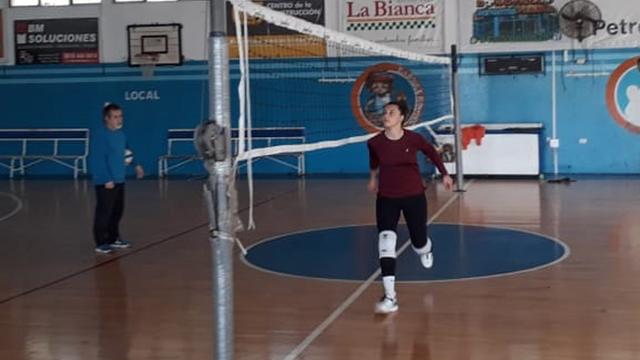 Victoria Michel Tosi palpita su partida hacia Alemania.