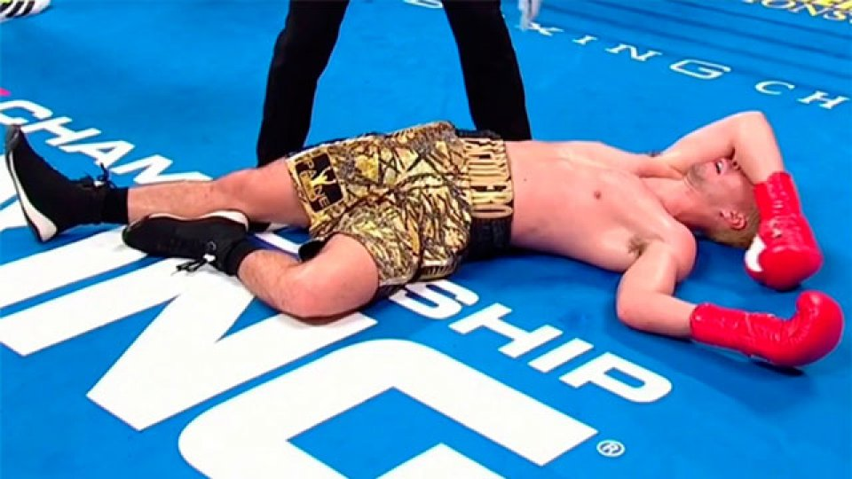 El cordobés Marcos Escudero perdió por un escalofriante KO.