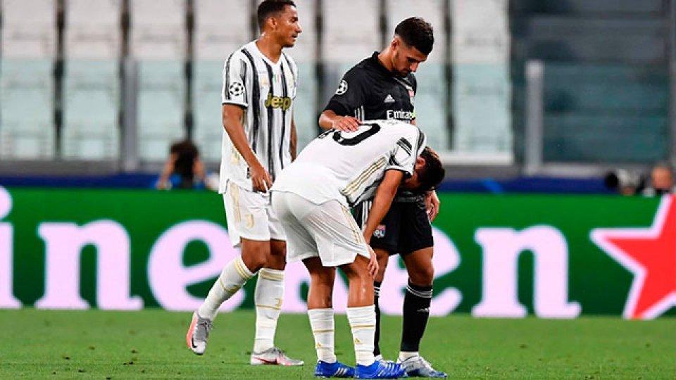 Juventus, fuera de la Liga de Campeones.