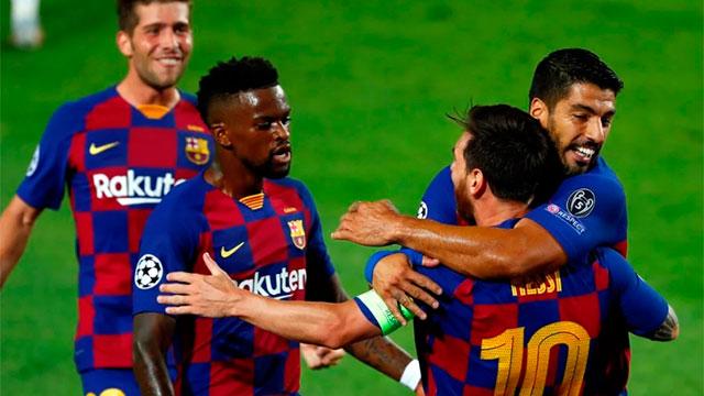 Barcelona eliminó a Napoli y avanzó en la Champions League
