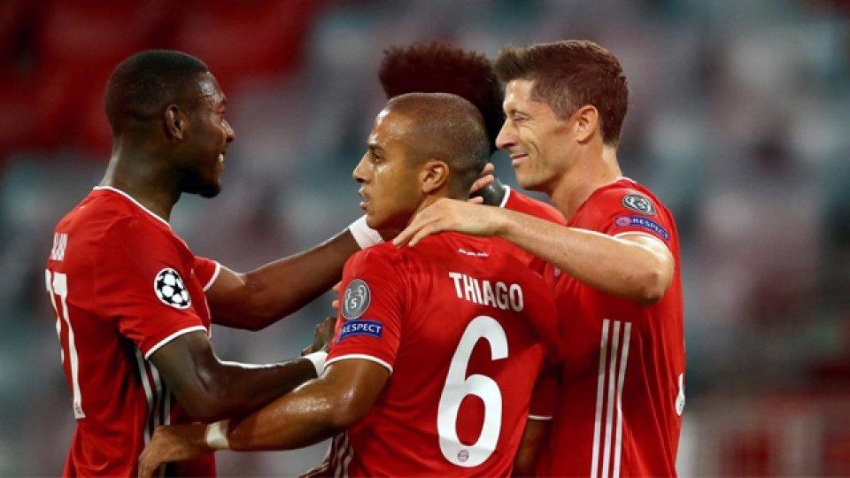 El global fue 7 a 1 en favor de los Rojos, que ahora enfrentarán al Barcelona.