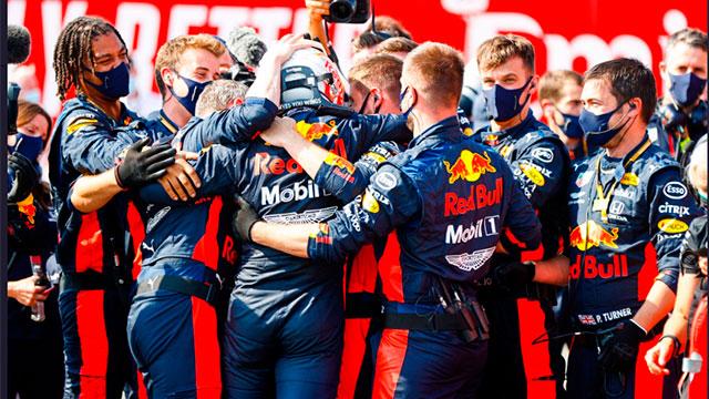 Fórmula 1: Verstappen se llevó la victoria en el Gran Premios de Silverstone