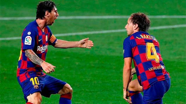 Messi y Barcelona irán por el pase a semifinales.