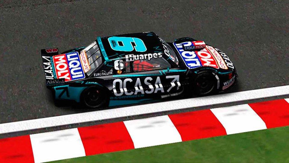 En Neuquén, Leonel Pernia se consagró campeón del TC Virtual.