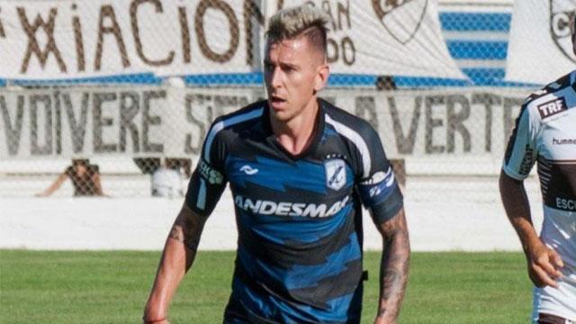 El paranaense Emanuel Moreno se sumó a Quilmes