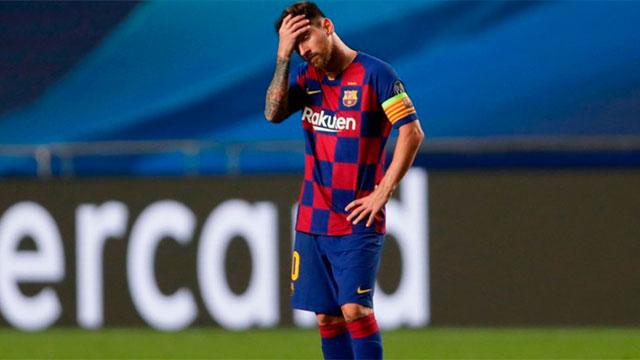 La peor temporada de Barcelona desde que llegó Messi.