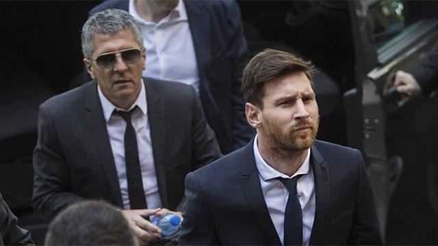 La familia Messi emitió un duro comunicado contra La Liga.