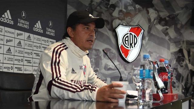 """""""Hay chicos que hoy no están preparados la Libertadores"""", señaló el Muñeco."""