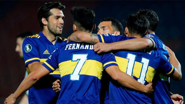 Copa Libertadores: En Paraguay, Boca le ganó con claridad a Libertad con los goles de Salvio