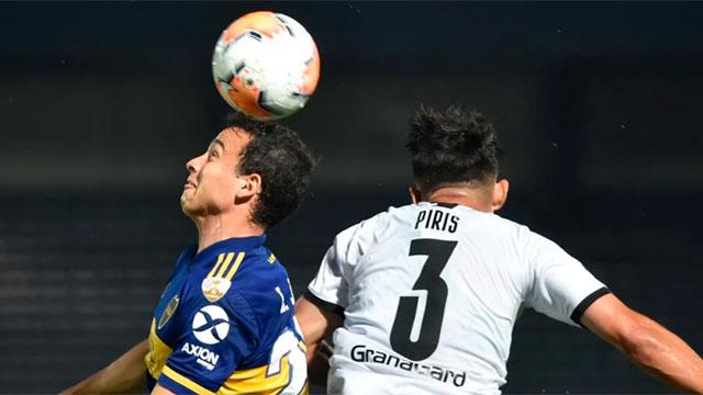 En Paraguay y de la mano de Salvio, Boca le ganó con claridad a Libertad.