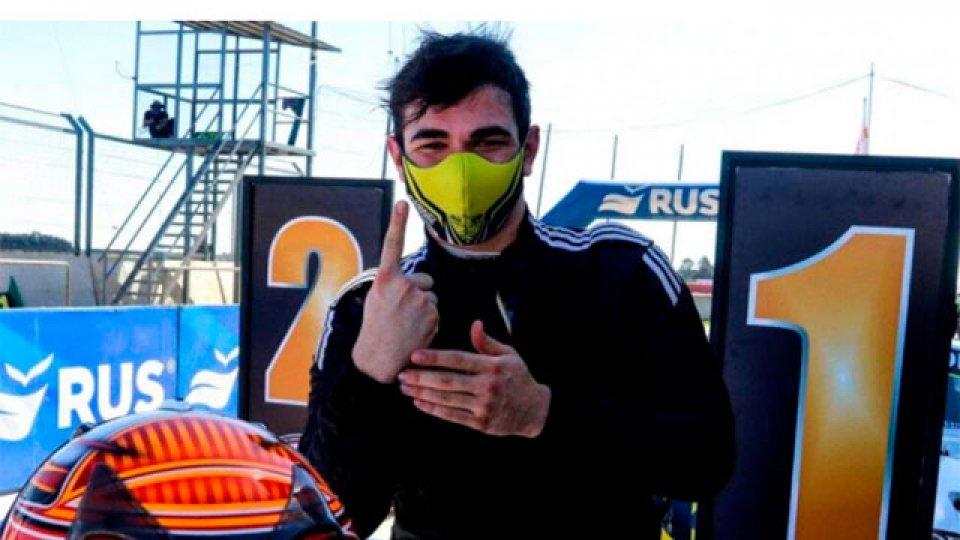Agust�n Mart�nez, el hijo del Gur�, gan� su primera carrera en el TC Mouras