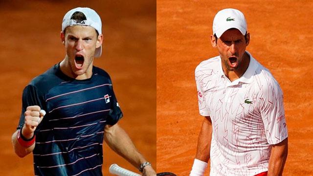 Diego Schwartzman va por la gloria ante Djokovic en Roma: hora y cómo ver el partido